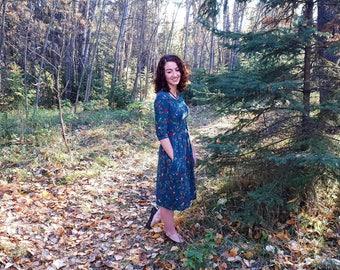 Rhiannon pleated dress