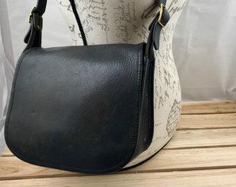 6d8fb35119 Coach Legacy Shoulder Bag Black Leather