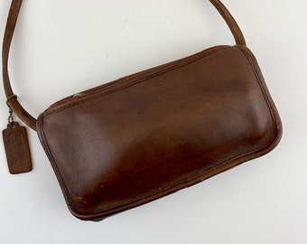 b16767ce71 COACH Wendie Brown Leather Small Crossbody Bag