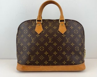 212baddd7cb Louis Vuitton Alma Handbag Monogram Leather
