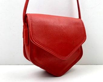 97237c39 Red crossbody bag   Etsy