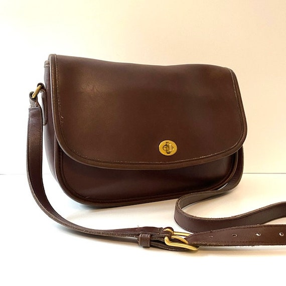COACH City Bag Brown Leather Crossbody Bag