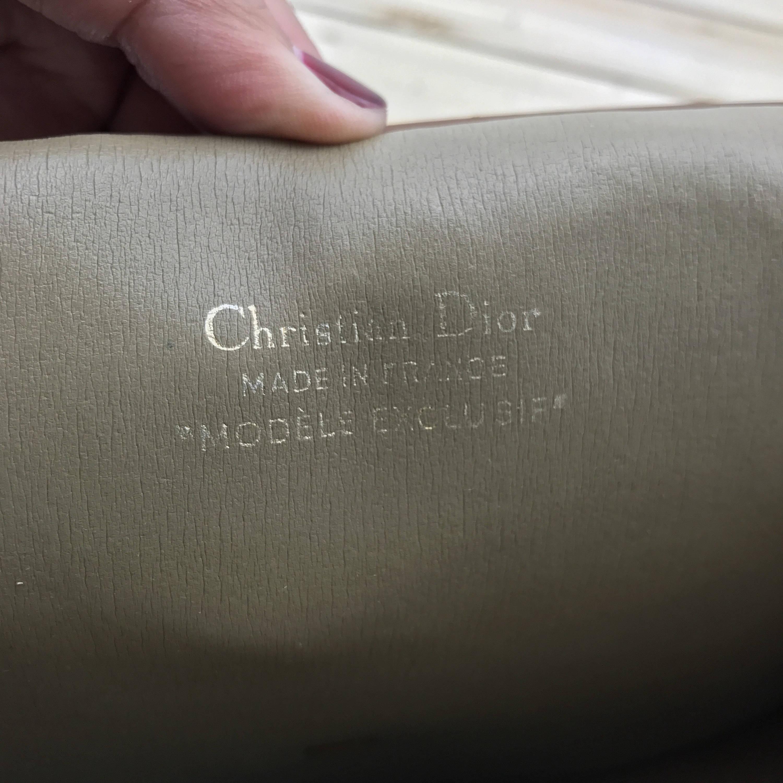 CHRISTIAN DIOR Vintage Classic Monogram Chain Purse    Crossbody