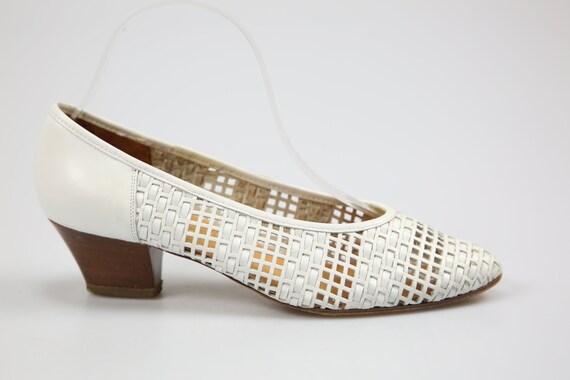 AROLA vintage pumps/women's shoe/leather size. 38