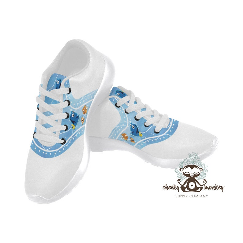 CruiseEtsy Dory Printed Nemoamp; Finding Inspired Disney Sneakers HED2I9