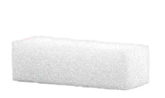DIY White Styrofoam 5-Inch Block Inserts for CEMETERY Flower VASE for Grave-site Presentation in Remembrance or Home Garden -