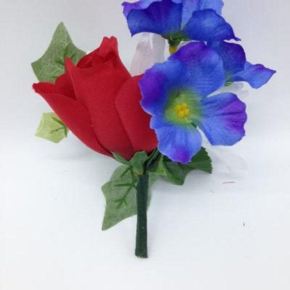 Niche DIY Crypt Silk Flower Rose Delphinium Daisy Ivy