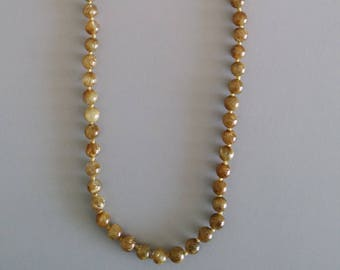 Golden Rutilated Quartz Necklace - Gemstone of Cleansing and Purification