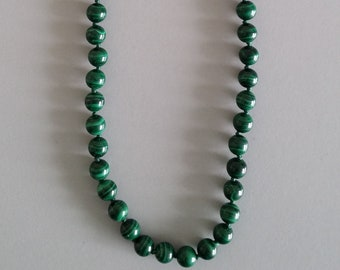 Malachite Necklace - Gemstone of Positivity and Optimism