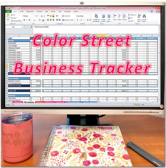 Color Street Business Tracker