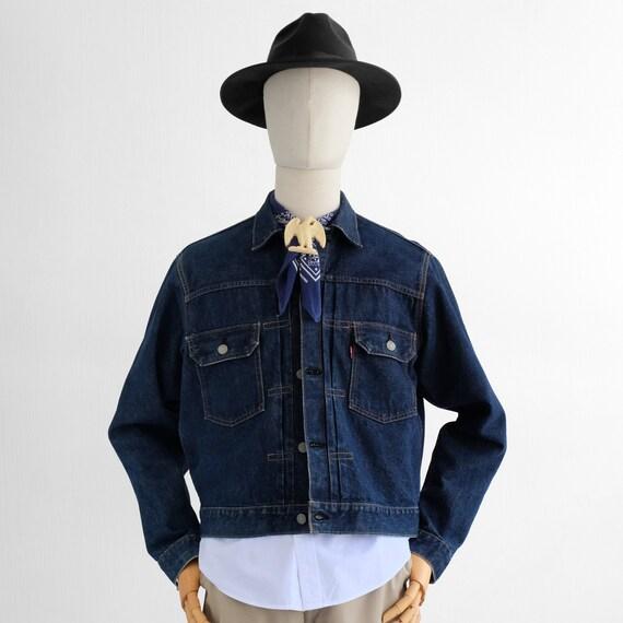 Vintage Levi's Type 2 507 Big E Denim Jacket 50s 6