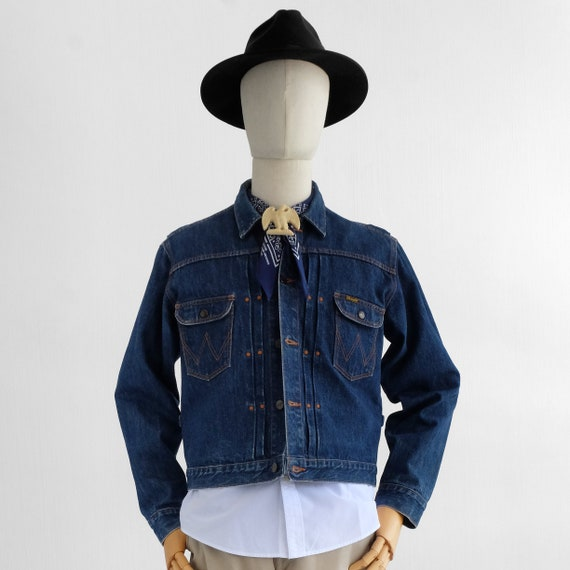 Vintage Wrangler Blue Bell 11MJ Denim Jacket 40s 5