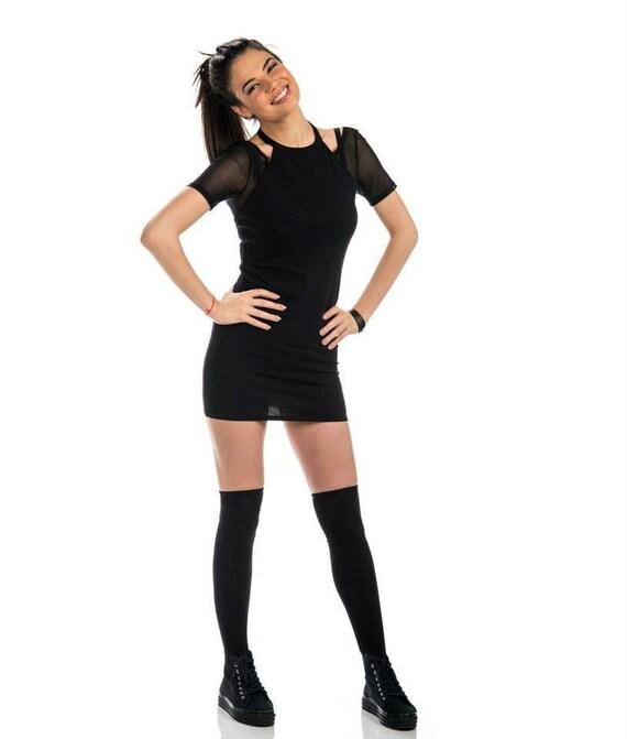 Party Tight dress black dress Fashion Extravagant dress Little dress tunic dress Black fvwnFq
