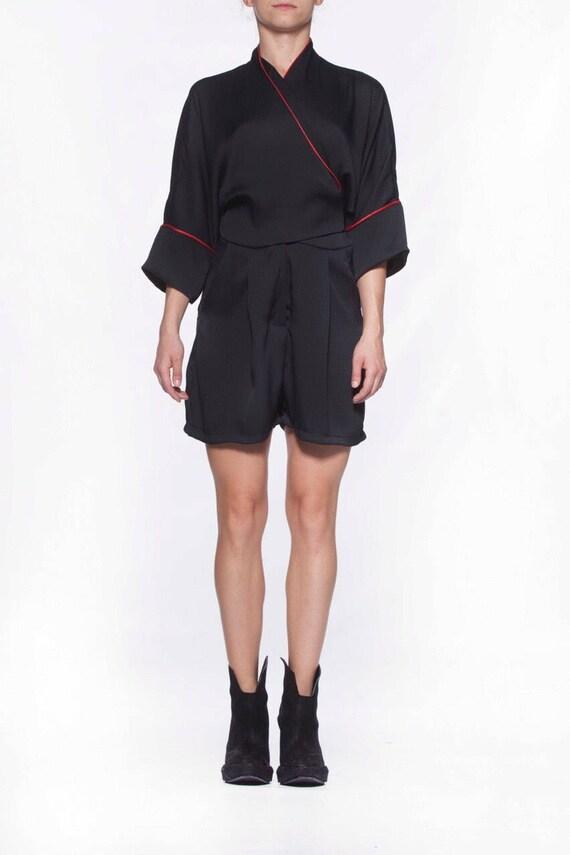 Loose Extravagant black pijama jumpsuit jumpsuit jumpsuit Short Party Designer jumpsuit jumpsuit Oversize jumpsuit womens X8xrp8