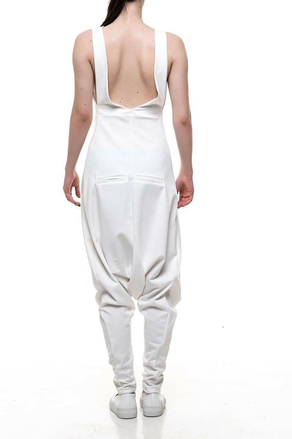 Plus Crotch Loose Summer Extravagant Jumpsuit Jumpsuit Jumpsuit Jumpsuit Size Jumpsuit Cotton Oversize Low SznOdTqq