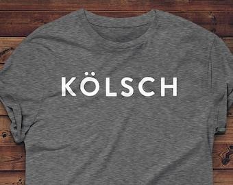 Beer Shirt // Kölsch // Beer T-shirt // Craft Beer Shirt // Homebrewer Gift // Beer Geek Shirt