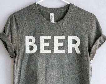 Beer Shirt // Craft Beer Tee // Craft Beer Gift // Homebrewer Shirt // Beer Geek Nerd T-shirt