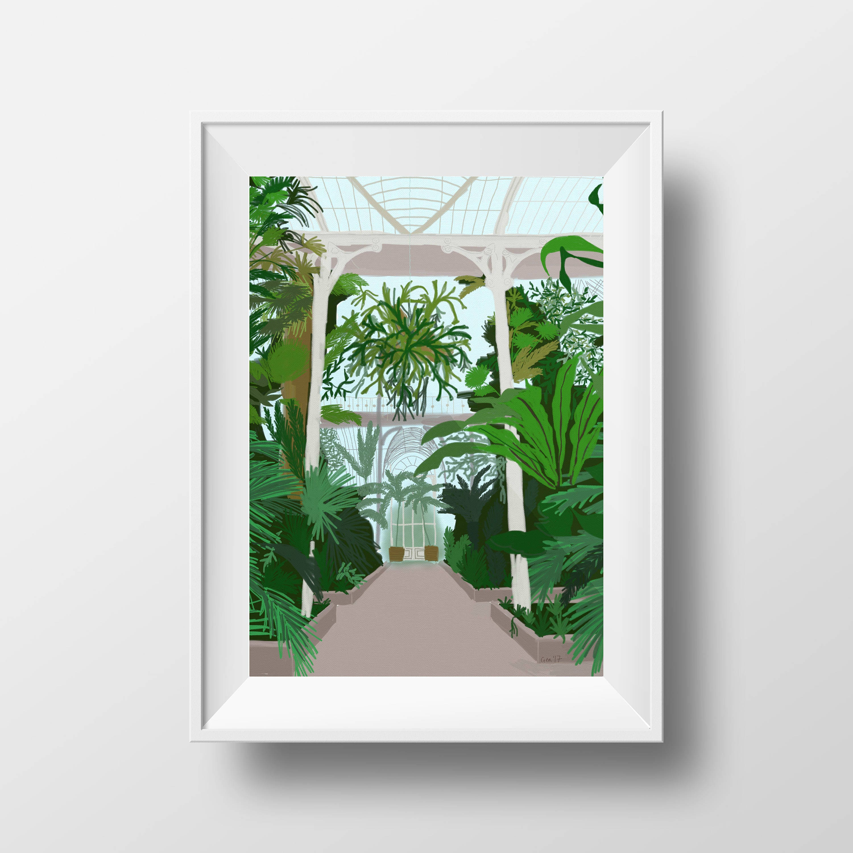 Kew Garden 2 0f 3   Etsy