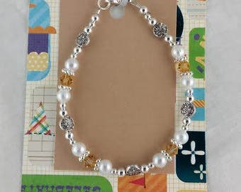 November Birthstone Bracelet