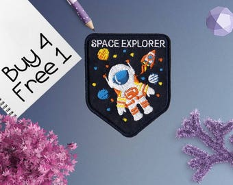 Space Station Patches Flight Patches Embroidered Patch Iron Patches