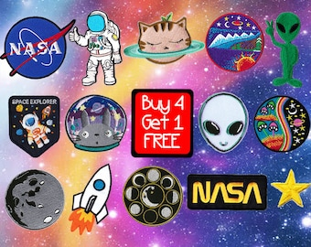 Nasa Patch Alien Patches Space Patches Cool Patches Cute Patches Funny Patches