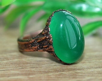Natural Chrysoprase cabochon,38x26mm,44.95cts....#5809
