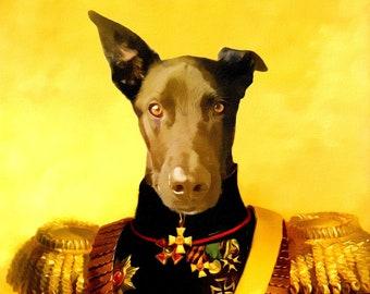 Pet portrait custom, Pet painting, pet drawing, custom dog painting, pet memorial, custom portrait, custom dog portrait, dog portrait