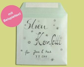 flower confetti biodegradable - wedding day