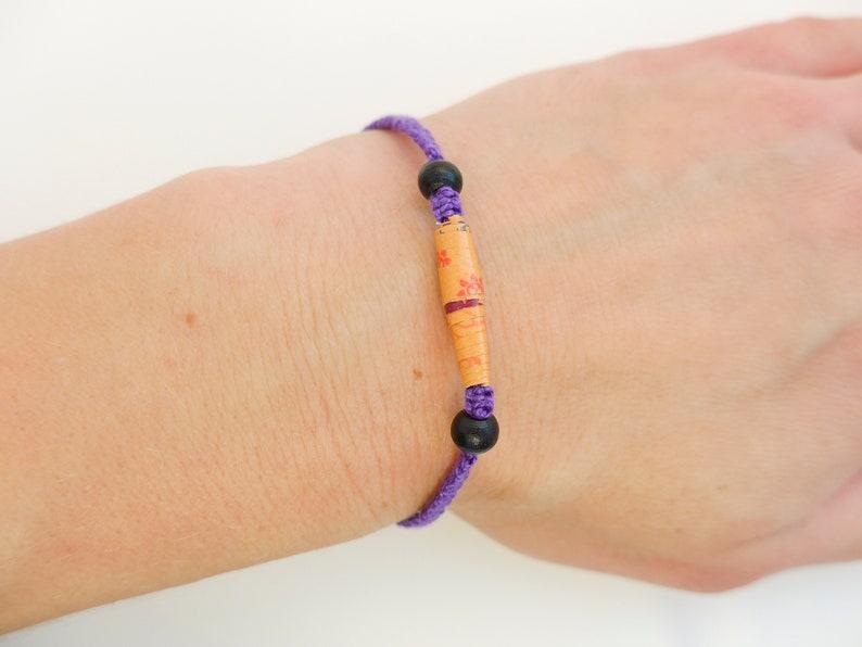 bracelet macramé image 0