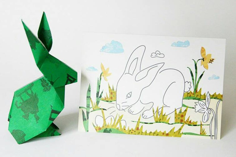 Easter Card Hare image 0