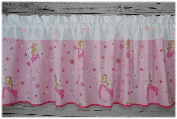 Scheibengardine mit Prinzessinnen Kinderzimmer