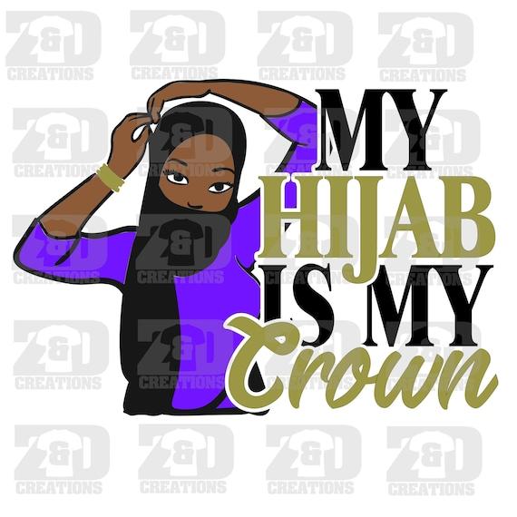 My Hijab Is My Crown Etsy Twinkle twinkle little hijab#crownhijab #twinklehijab #dailysketch #illustration #illustrator #cartoonart #artoftheday #islamic #hijab… my hijab is my crown