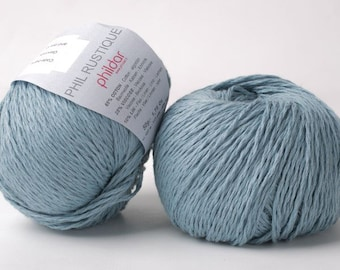 Mercerized Cotton Crochet Yarn With Aloe Vera Phildar Coton 3 Etsy