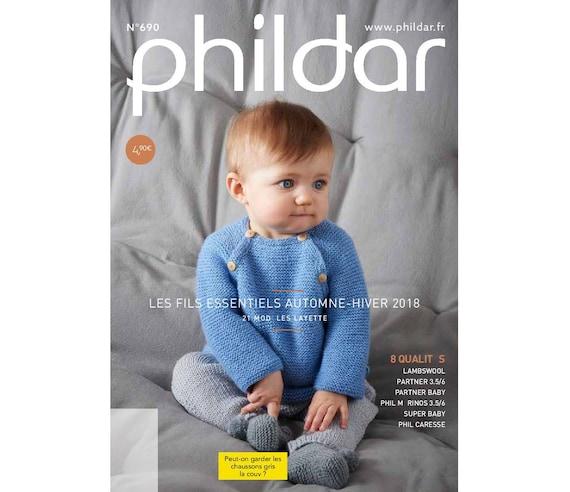 Knitting Magazine 2018 Phildar Knitting For Newborns To 18 Etsy