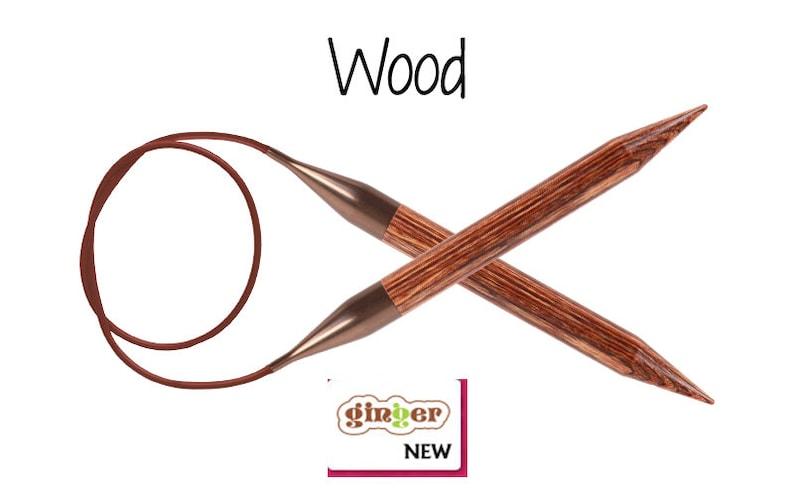 Fixed circular needles 40 cm 16 in-Circular knitting needles-Knit Pro Needles-Needles for knitting-Zing-Ginger-Nova Cubics-Cubics