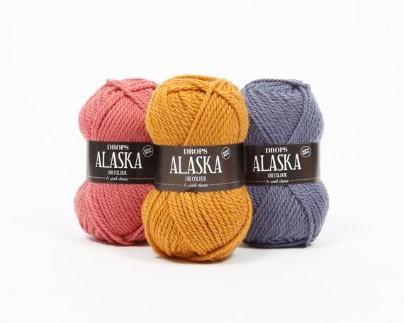 """15 colores /""""Aran/"""" hilo grueso de lana Stop 100 GR"""