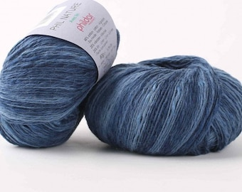 Cotton viscose and linen yarn  PHILDAR NATURE - 50 g (1.76 oz) - 165 m (180 yards) - Needle size: 3 - 3.50 mm - Sport weight