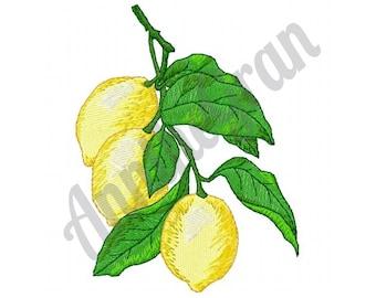 f5b5b06842ce Lemon embroidery | Etsy