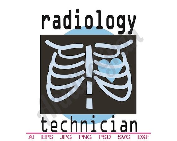 Radiology Technologist Svg Dxf Eps Png Jpg Vector Art Etsy
