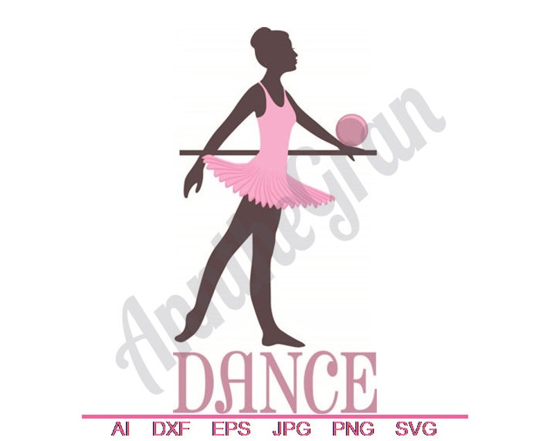 Dancing Ballerina Eps Png Dxf Jpg Cut File Svg Ballet Dance SVG Ball SVG Vector Art Clipart