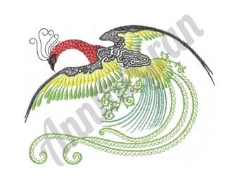 Bird - Machine Embroidery Design