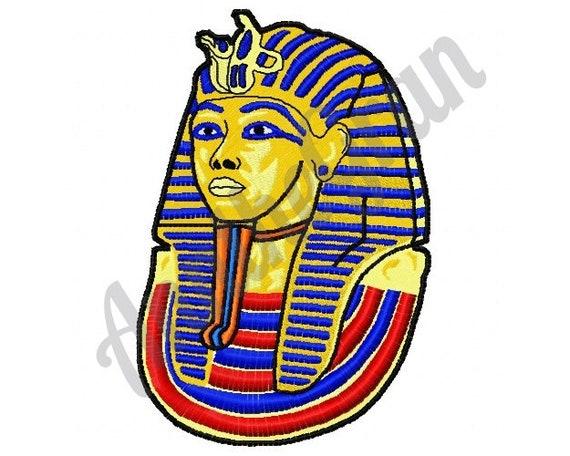 Disegno Di Un Faraone.Disegno Del Ricamo Del Faraone Egiziano Disegno Ricamo Etsy