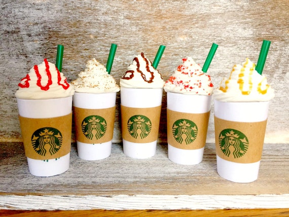 Food For American Girl 18 Doll Starbucks Inspired Drink Etsy