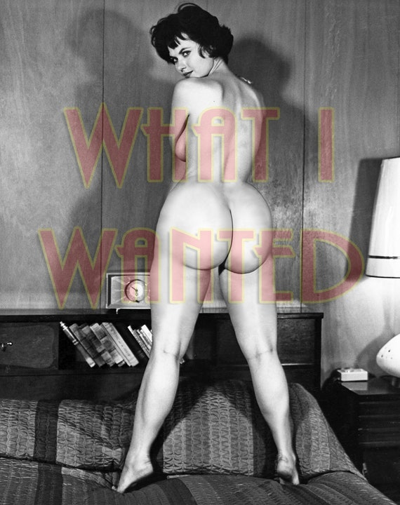 Vintage Nude Erotic 1950S Photo 4X6 Big Butt Huge Booty -1972