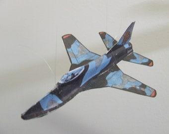 Marauder Experimental Fantasy Aircraft Cut & Glue Paper Glider Kit