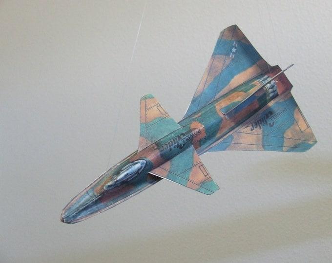 Delta Shark Experimental Fantasy Aircraft Cut & Glue Paper Glider Kit