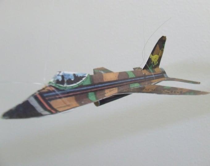 Cheetah Experimental Fantasy Aircraft Cut & Glue Paper Glider Kit