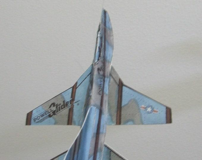 Predator Experimental Fantasy Aircraft Cut & Glue Paper Glider Kit