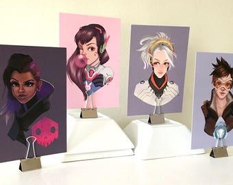 Ladies of Overwatch print set