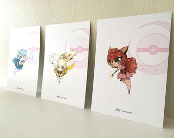 Poke-Sailors print set